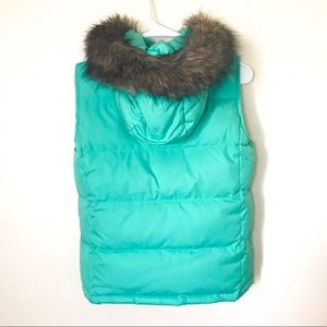 Gap Fur Down Vest Small